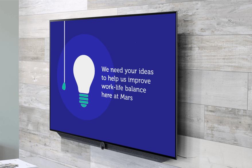 Mars digital signage