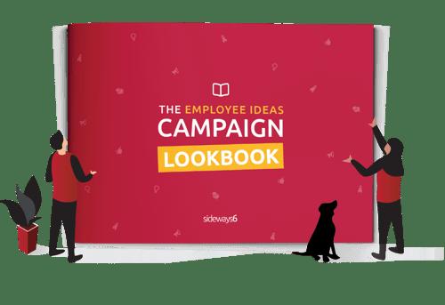 Employee ideas campaign lookbook